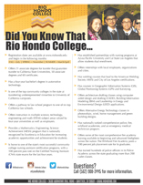 Rio Fast Facts