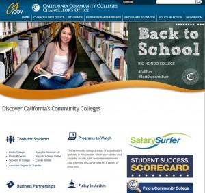 CCCCO website screenshot 10_15-14