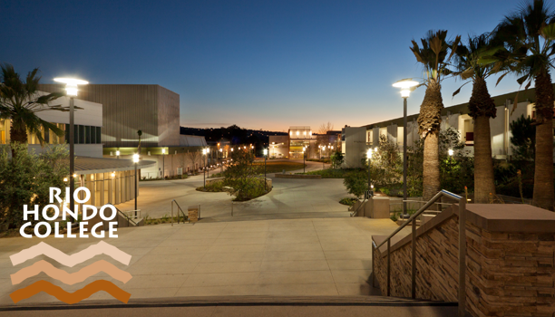 Rio Hondo College at Night