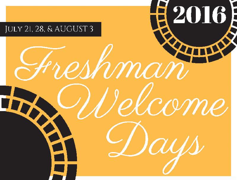 Freshman Days 2016