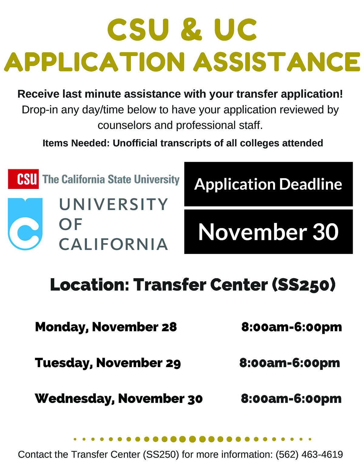 CSUUCReview University Of California Application Form on cape town,