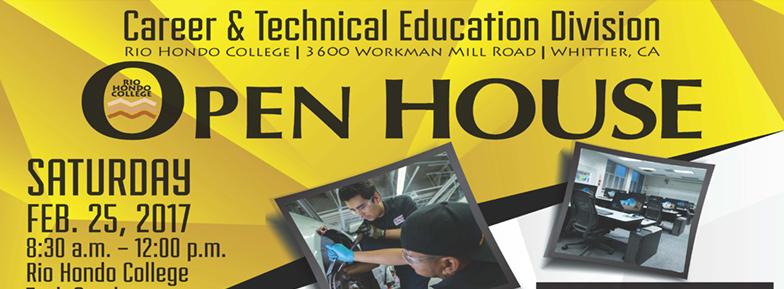 CTE Open House Flyer Banner