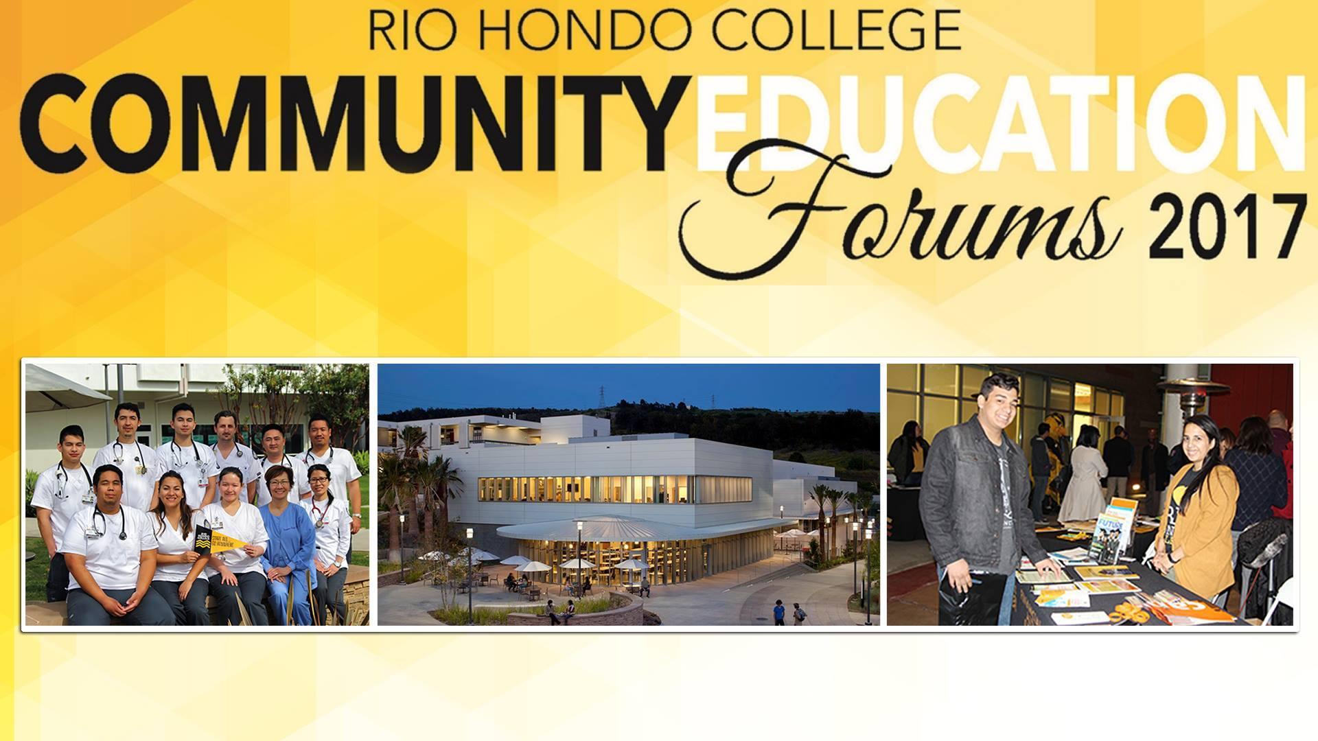 Community Education Forums 2017