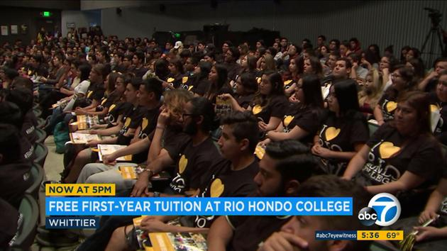 ABC 7 News on Rio Hondo College Promise Launch