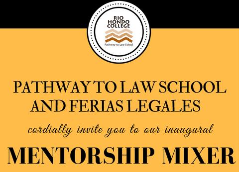 Pathway to Law Mixer invite