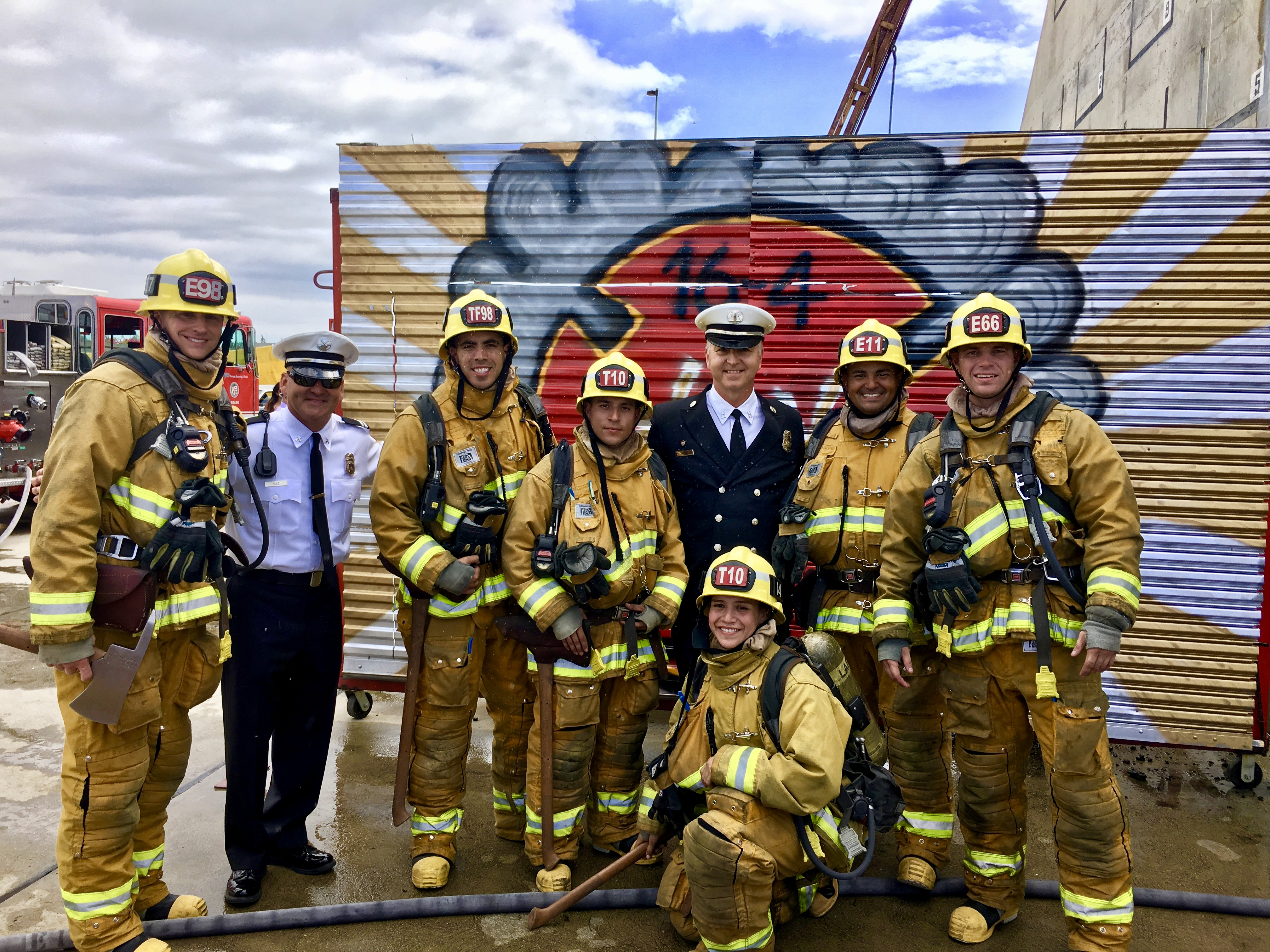 Los Angeles Fire Department Hires Record Breaking Number Of Rio Hondo Academy Graduates