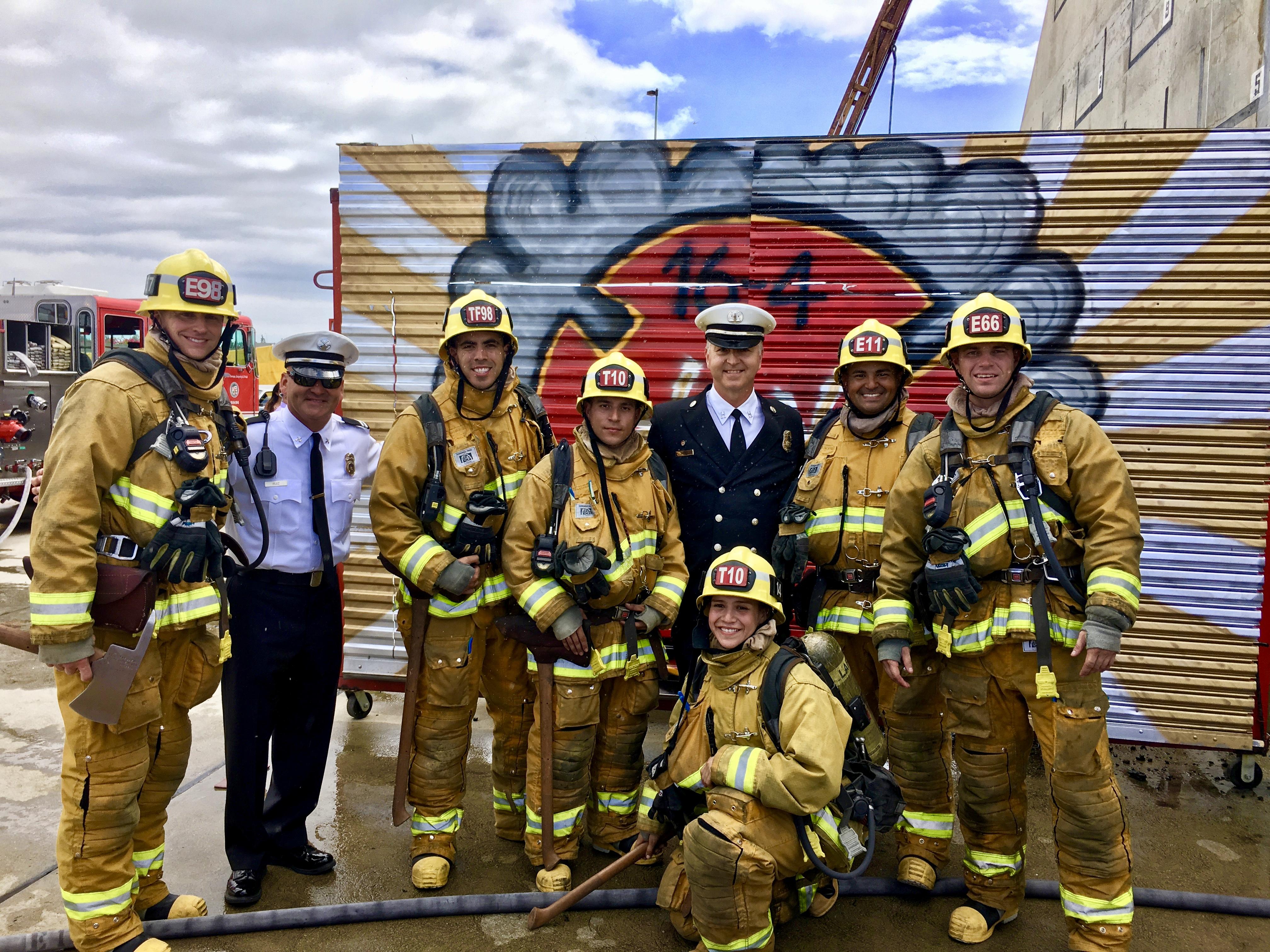 Rio Hondo Fire Academy Graduates