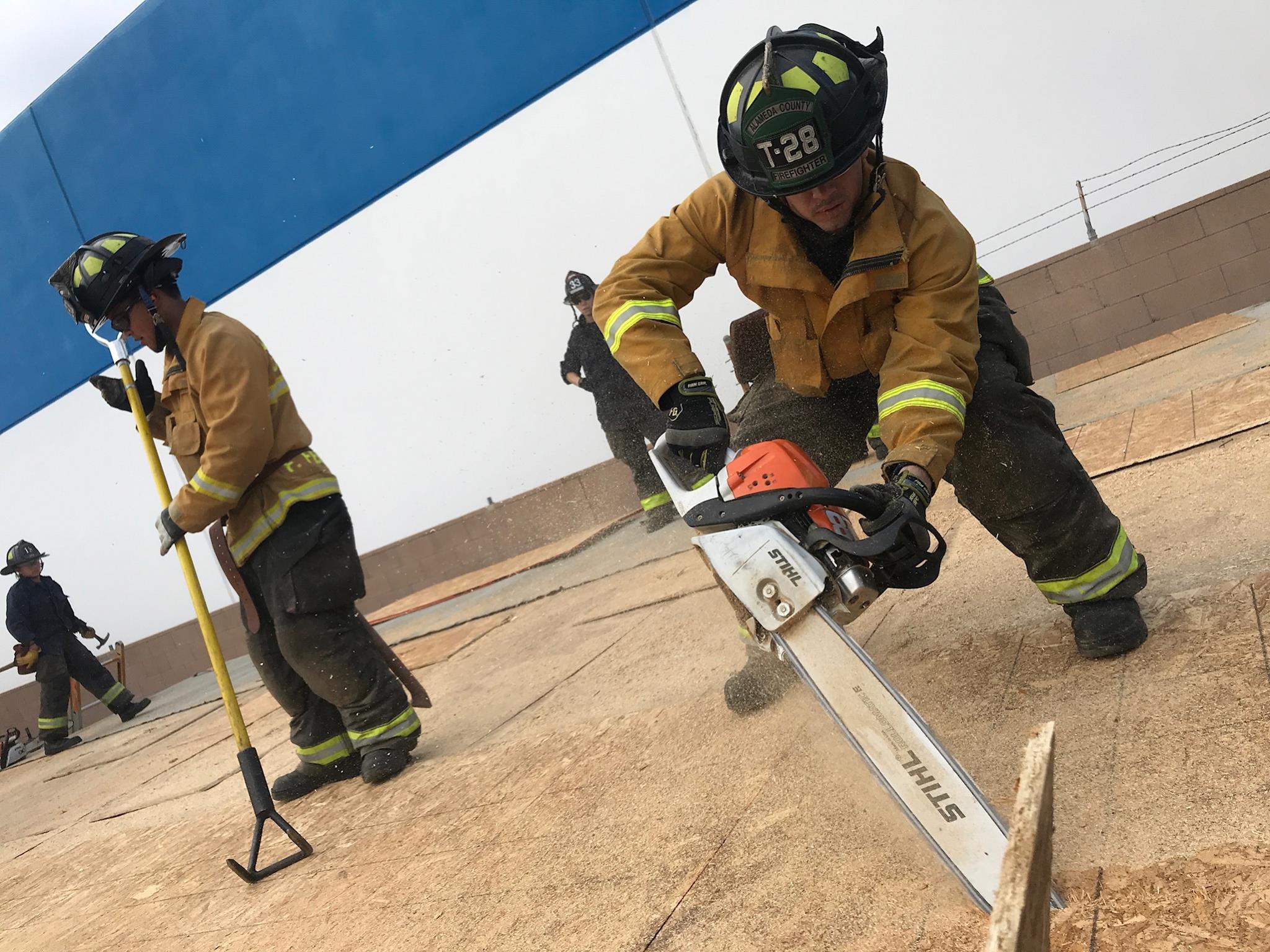 Rio Hodno College Fire Truck Academy