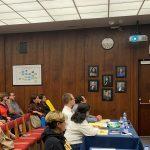 President Reyes Speaks at Board of Trustees Meeting