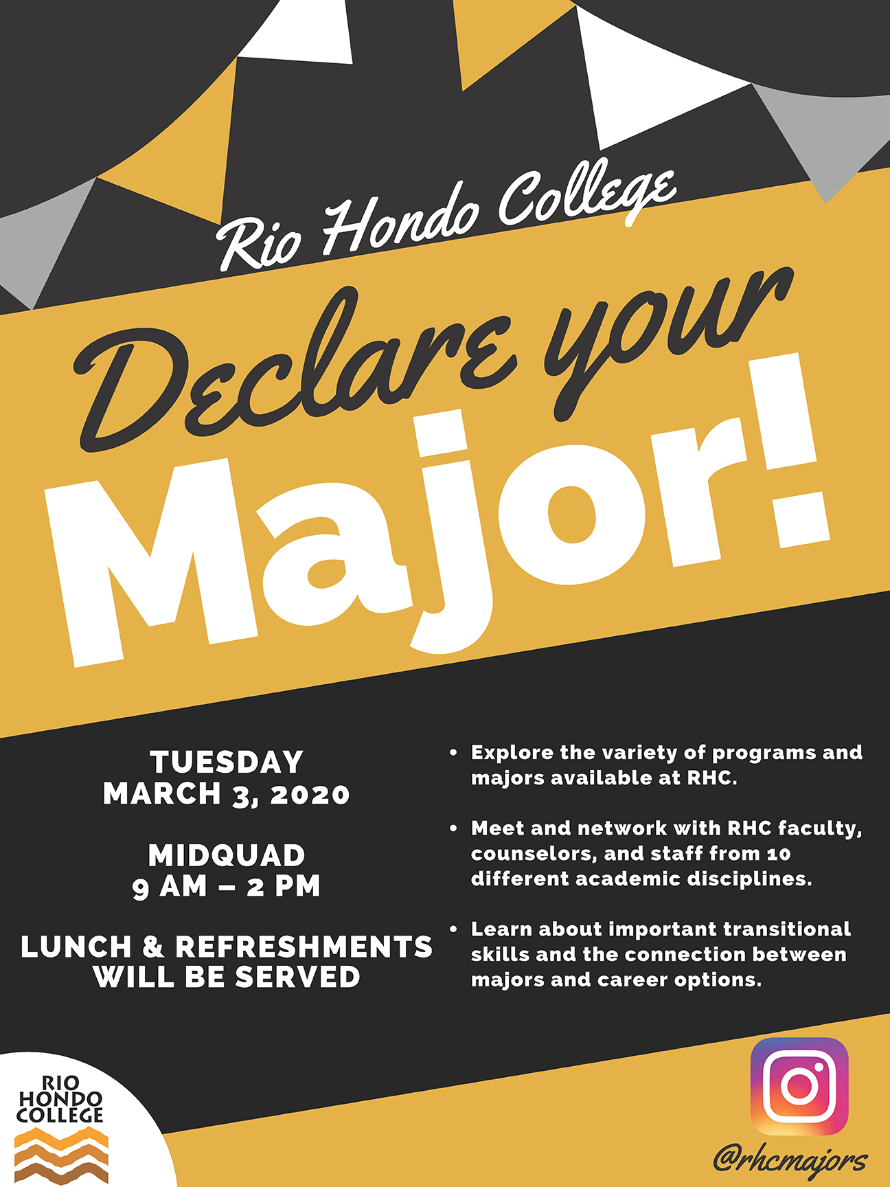 Declare your major Flyer