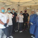 RHC nursing students helping