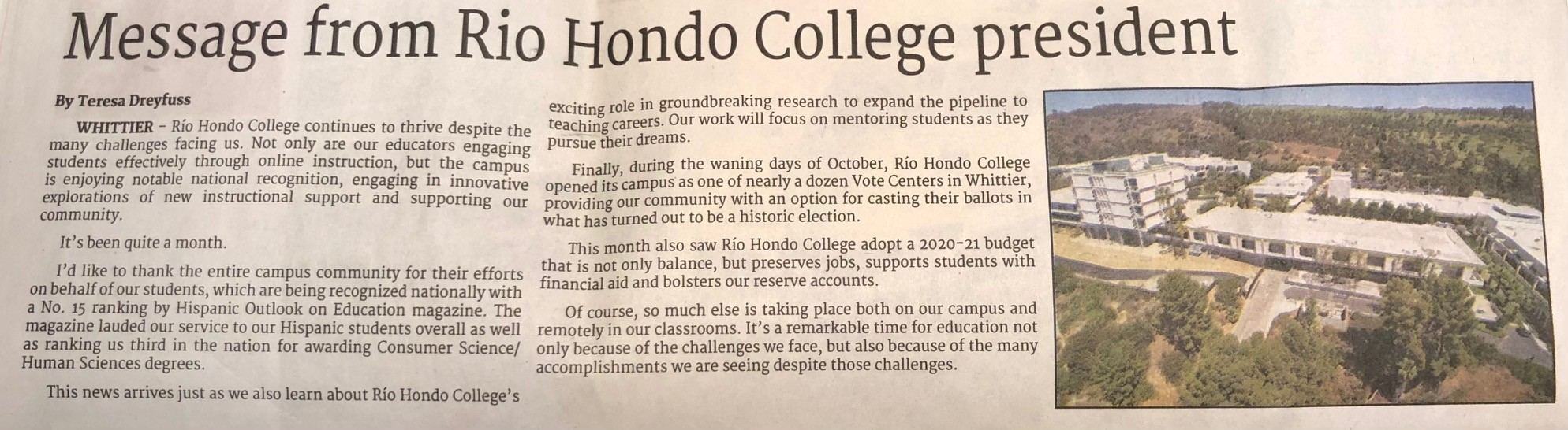 article from norwalk patriot