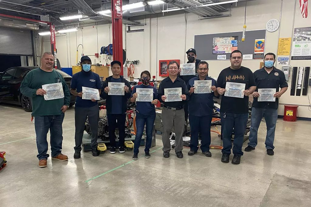 CTE truck technicians