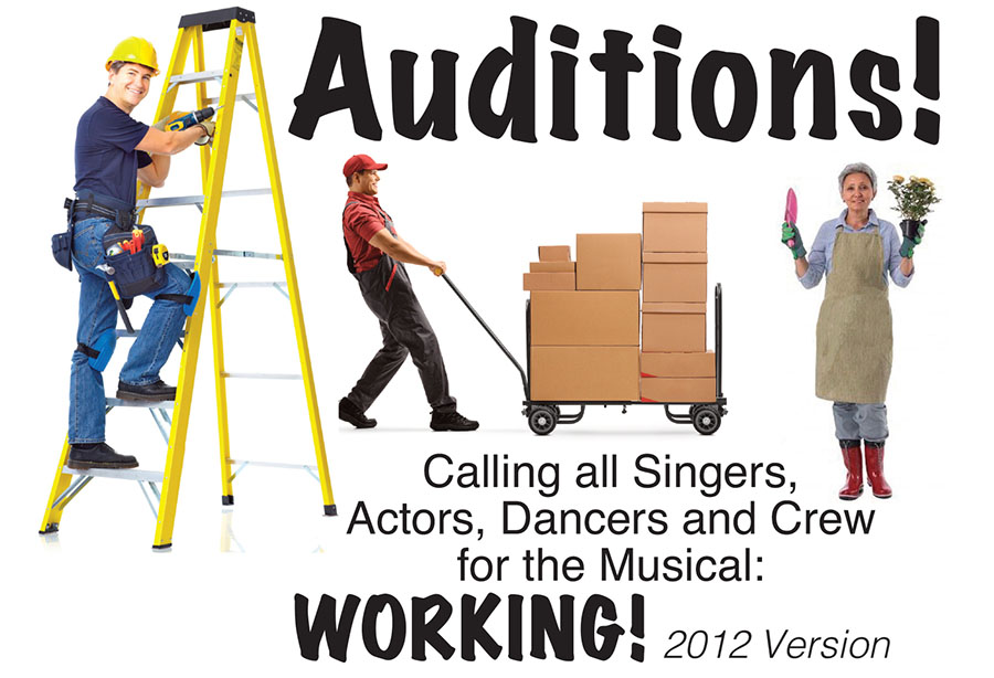 working auditions header