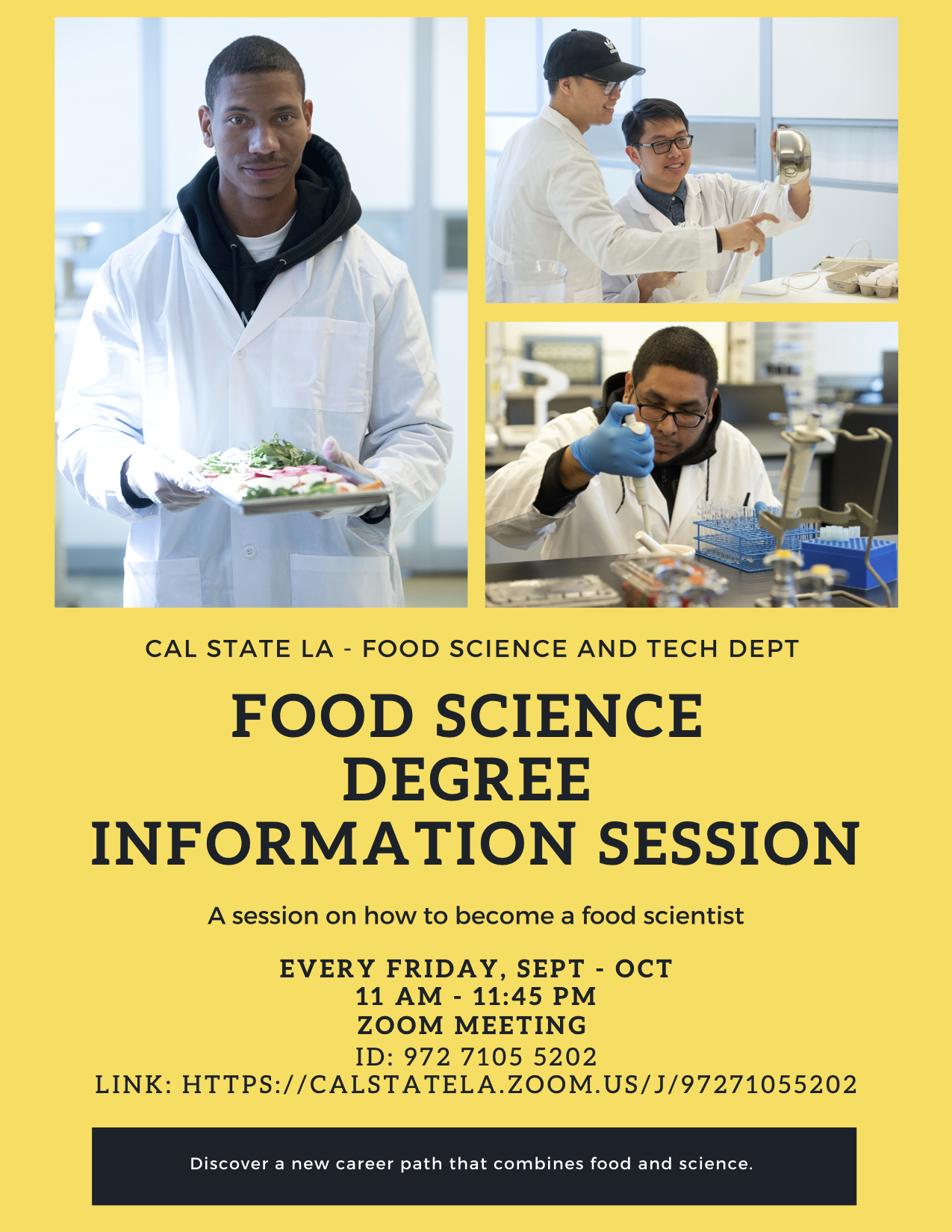 CSULA Food Science Information Session