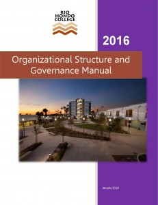 Governance Manual 2016 Cover