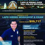 View LAPD Hiring Workshop Information