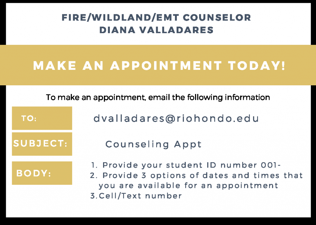 Diana Valladares Appointment Card