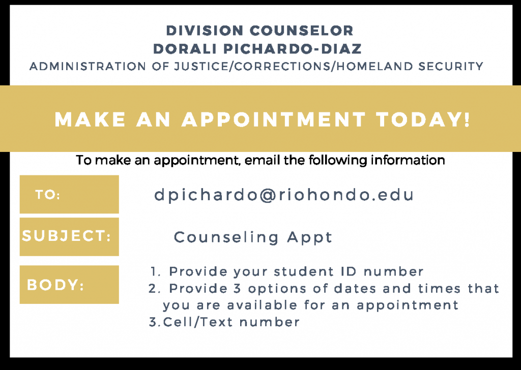 Dorali Pichardo-Diaz Appointment Card