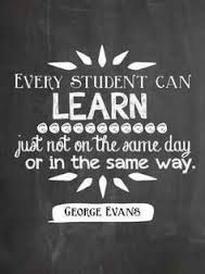 Every student can learn