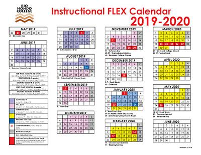 Click here to view 2019-20 Instructional FLEX calendar