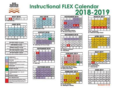 Click here to view 2018-19 Instructional FLEX calendar