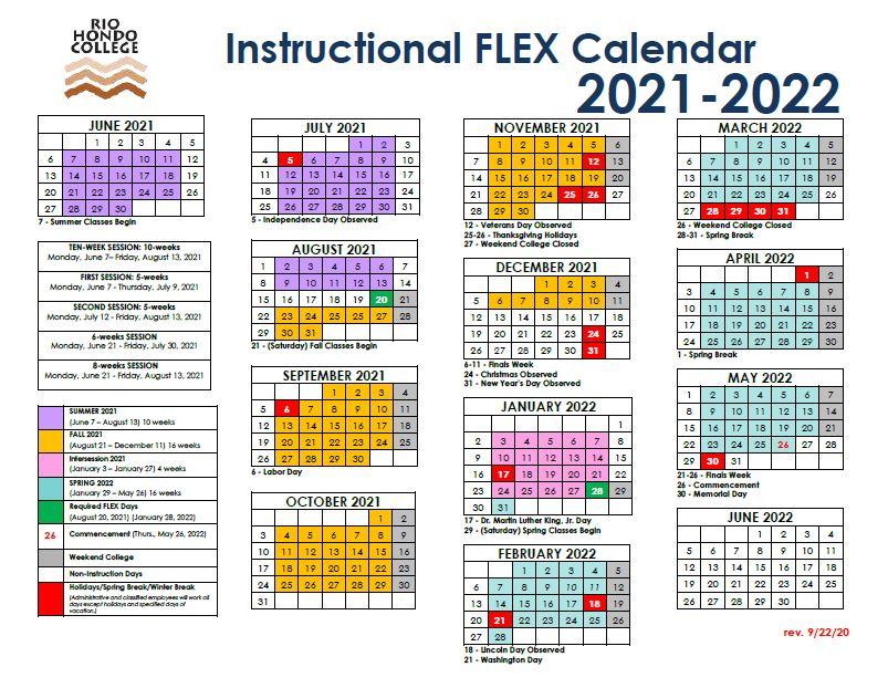 Click here to view 2021-2022 Instructional FLEX calendar