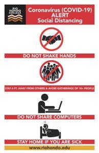 social distancing alert