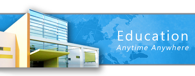 Online Education - Anytime, anywhere