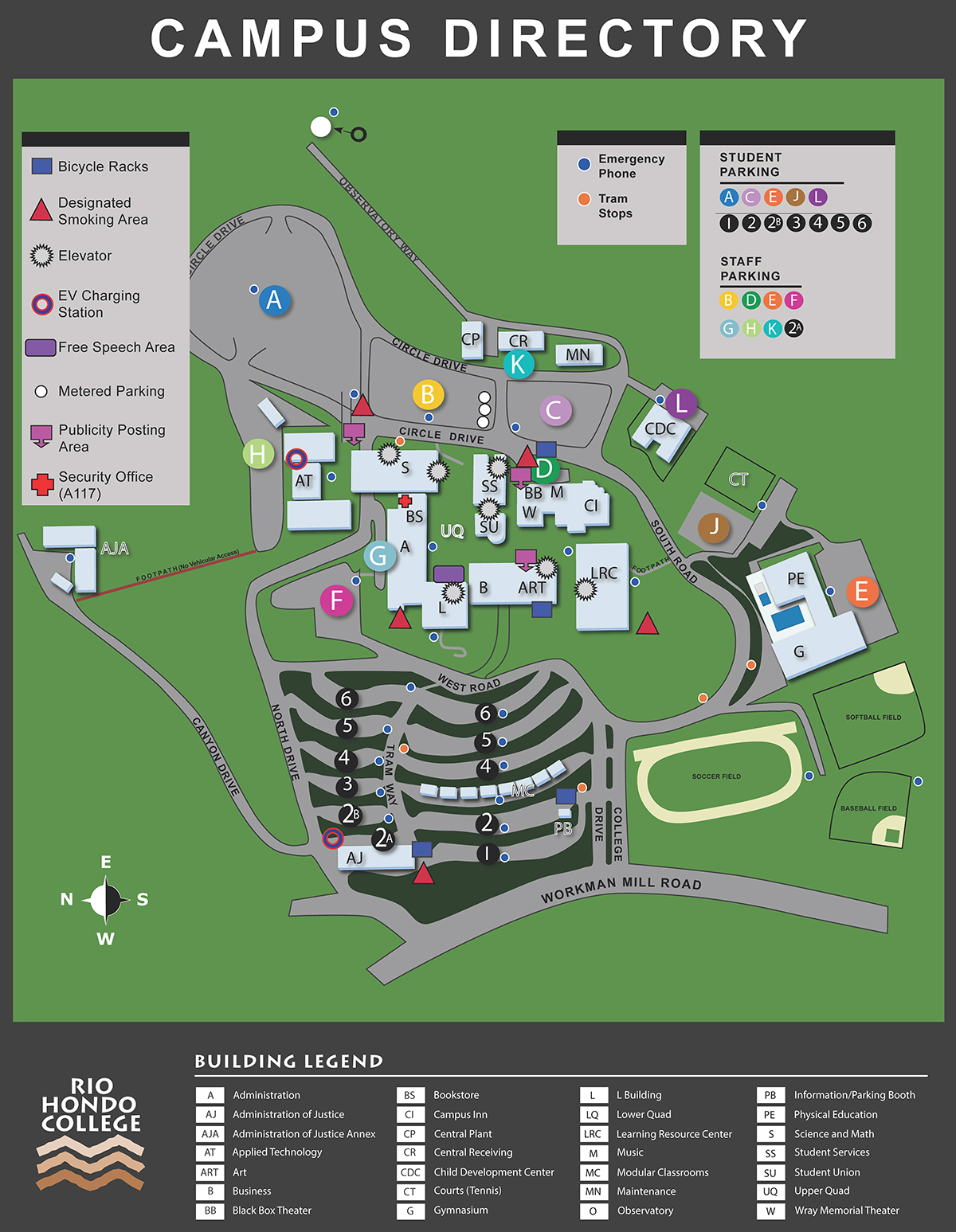 Rio Hondo Campus Map Directions, Maps, & Transportation | Rio Hondo College Rio Hondo Campus Map
