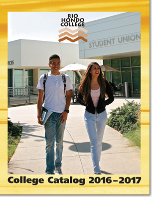 College Catalog 2016 - 2017 Cover