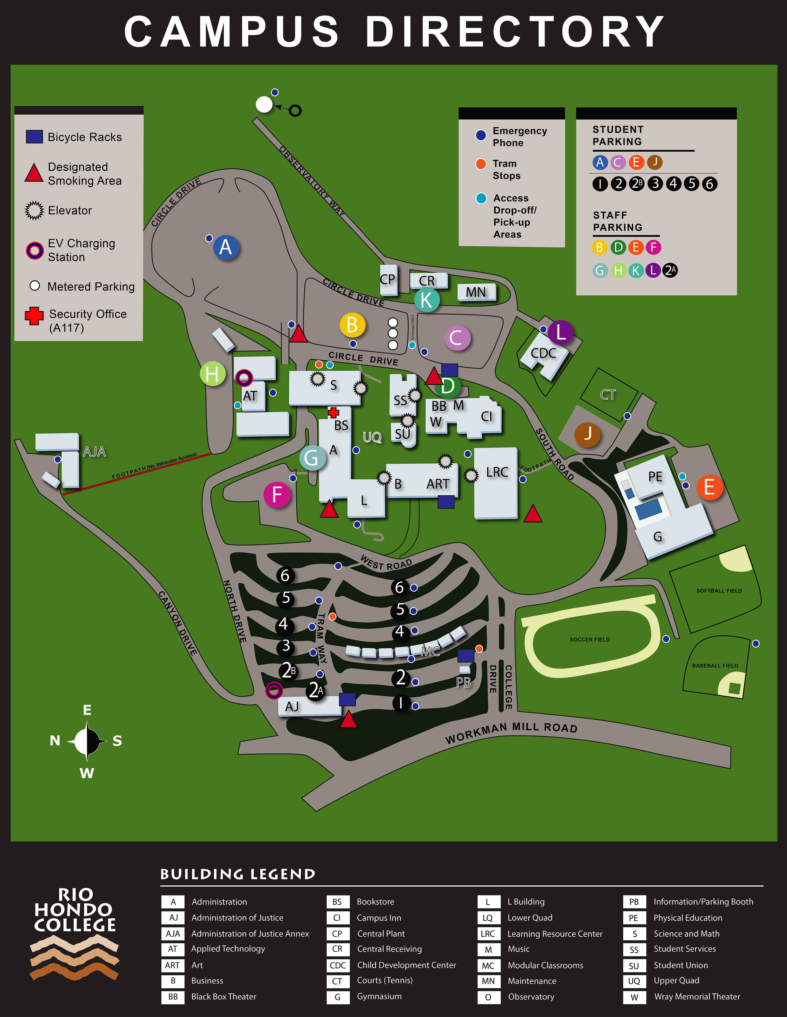 Directions, Maps, & Transportation | Rio Hondo College