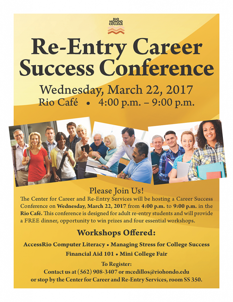Re-Entry Career Success Conference @ Rio Cafe | Whittier | California | United States
