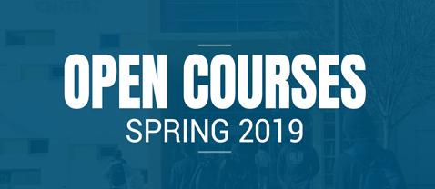 Open Courses Spring 2019