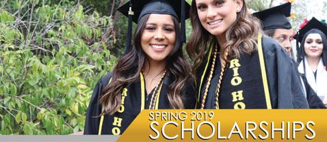 scholarships spring 2019