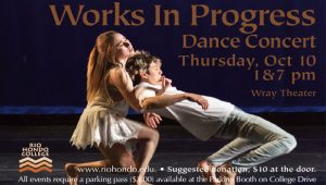 Works in Progress Dance Concert @ Wray Theater