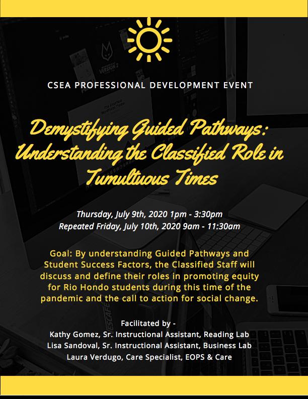 CSEA professional Development