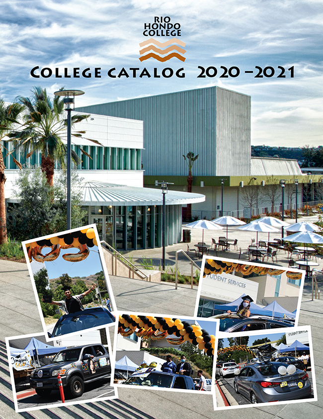 2020 - 2021 College Catalog Front Page