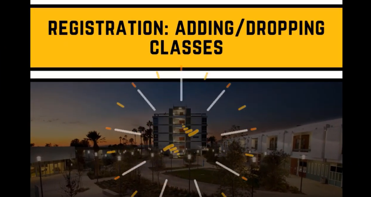 Regiatration adding and dropping classes