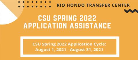 Transfer center CSU transfer application assistance
